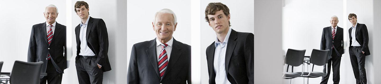 Bild Iventa Unternehmensübergabe. Ältere Generation übergibt jüngerer die Verantwortung.