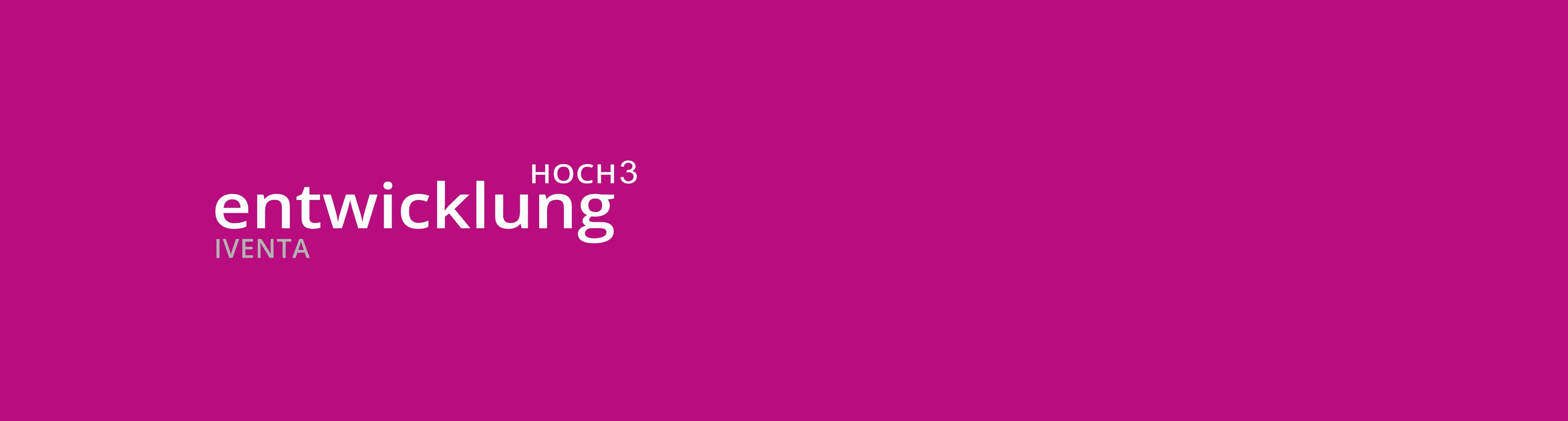 Entwicklung Hoch3 Logo