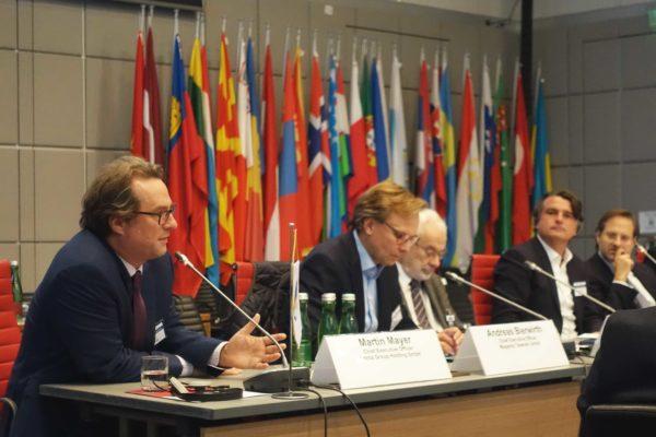 OSCE Diskussions-Podium